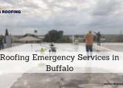 Roofing emergency services in buffalo