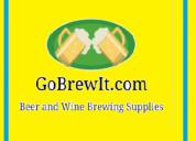 Online best beer making supplies at gobrewit