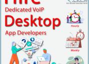 Hire dedicated voip desktop app developers from vs