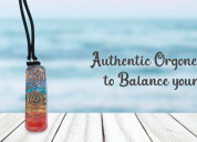 Authentic orgone pendant to balance your chakras