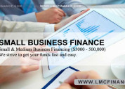 Lmc finance loans mortgages commercial finance can