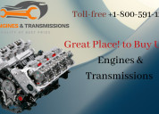 Used engines and transmissions at reasonable cost