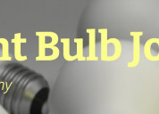 Different types of lightbulb jokes