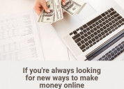 Earn money - work from home