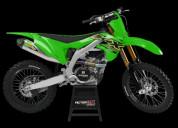 Kawasaki motocross graphics