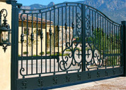 Choose the best residential gates in cape coral