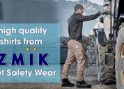 Get a high quality work shirts from sizmik