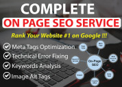 On page seo service in talentsroot