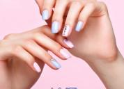 Learn nail art @ the academy of hair & technology