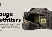 Purchase gun range bag with lifetime guarantee