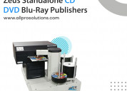 Cd dvd blu-ray disc publishing system