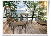 Bent willow outdoor furniture