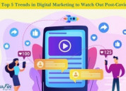 Trend in digital marketing to watch out post-covid