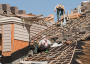 Storm damage roofing company | saxon roofing and r