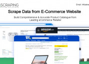 E-commerce web scraping services in the usa