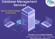 Vspl provides database management services to get