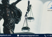 Advanced paralegal services & us legal work