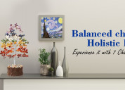 Balanced chakras and holistic health - experience
