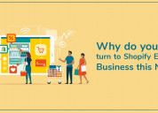 Why do you need to turn to shopify e-commerce busi