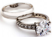 Vintage wedding rings from brownwood collection