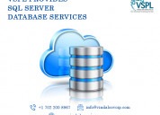 Vspl provides sql server database services