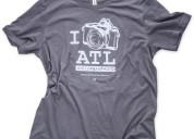 I shoot atl unisex t-shirt
