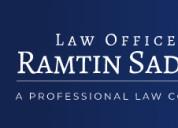 The law offices of ramtin sadighim
