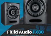 Fluid audio fx80 – hear the magic of coax accuracy