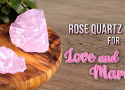 Know about the rose quartz crystals for love and m