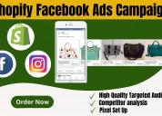 Facebook ads campaign service