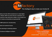 Fitfactory: the intelligent way to make factories