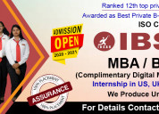 Mba | bba | bca | institute of business studies an