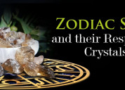 Zodiac sign and their respective crystals