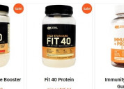 Shop dietary supplements online with 20% discount