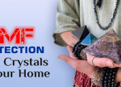 Emf protection from crystals for your home