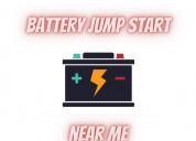 Battery jump start near me