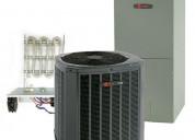Trane 4 ton 16.5 seer single stage heat pump