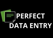 Accounting data entry services @$5/ hour in florid