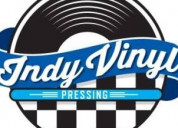 Custom vinyl record pressing