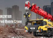 Cada c61081 technic functional crane for gift ship