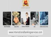 International banking services