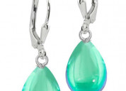 Buy enticing crystal drop earrings from leightworks
