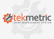Automotive repair shop software