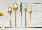 Buy a stunning and complete flatware set from inox