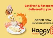 Order chicken & vegetarian momo online