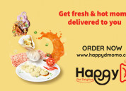 Order chicken & vegetarian momo online |