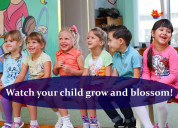 Watch your child grow and blossom!