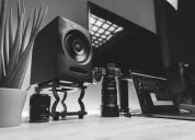 The fluid audio fx 50 - coaxial monitors