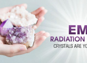 Emf radiation emitters – crystals are your answer