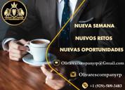 Olivares company contrata personal